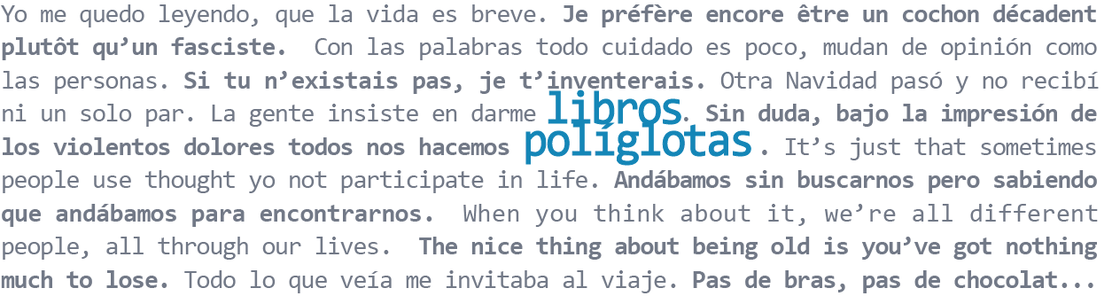 Libros Políglotas